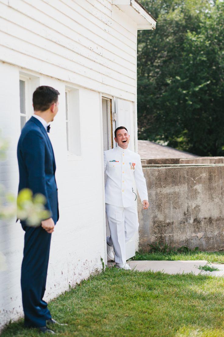 Andrew and Patrick's Rustic Nebraska City Barn Wedding with Lied Lodge Reception (Photography: Dana Damewood - danadamewood.com) Read More: http://www.stylemepretty.com/2014/05/30/whimsical-nebraska-city-barn-wedding/