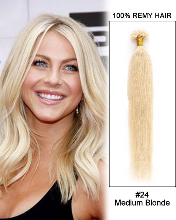 Best 25 keratin hair extensions ideas on pinterest extensions 16 24 medium blonde straight nail tip u tip 100 remy hair keratin pmusecretfo Choice Image