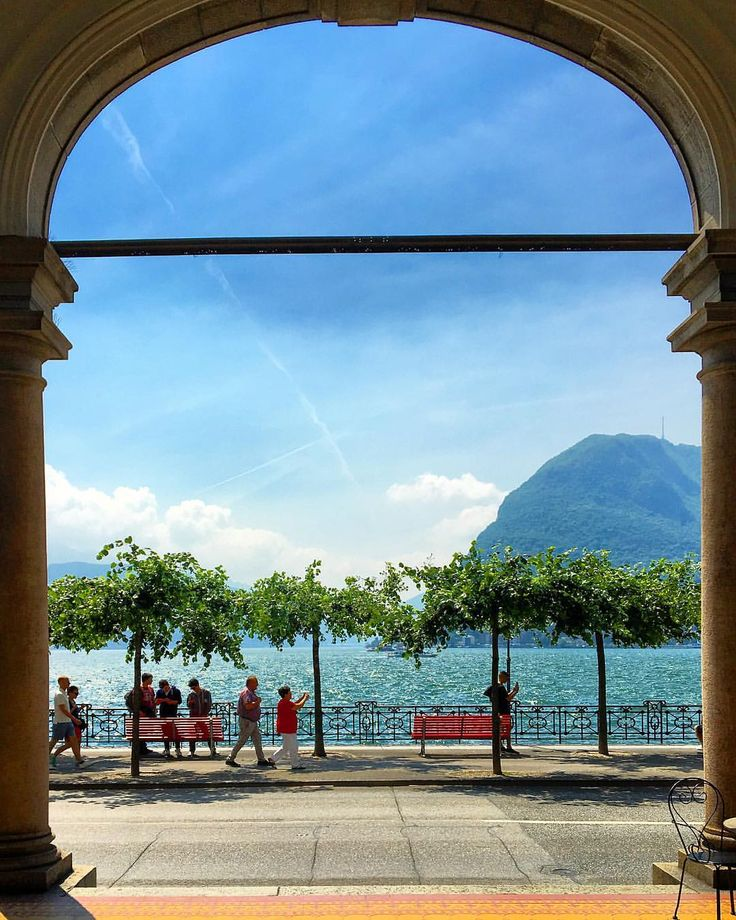 """🇨🇭✨🎨 ✨🎈☀️❤️ #Lugano the other day…"""""""