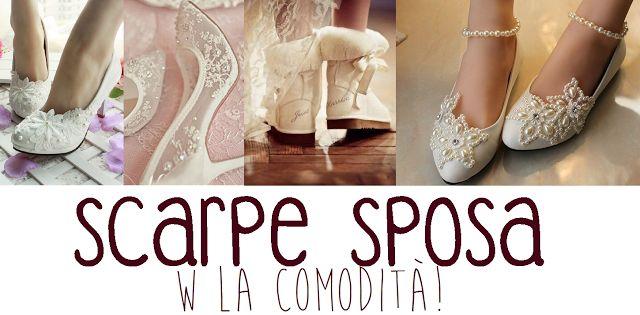Come scegliere le scarpe sposa comode e belle