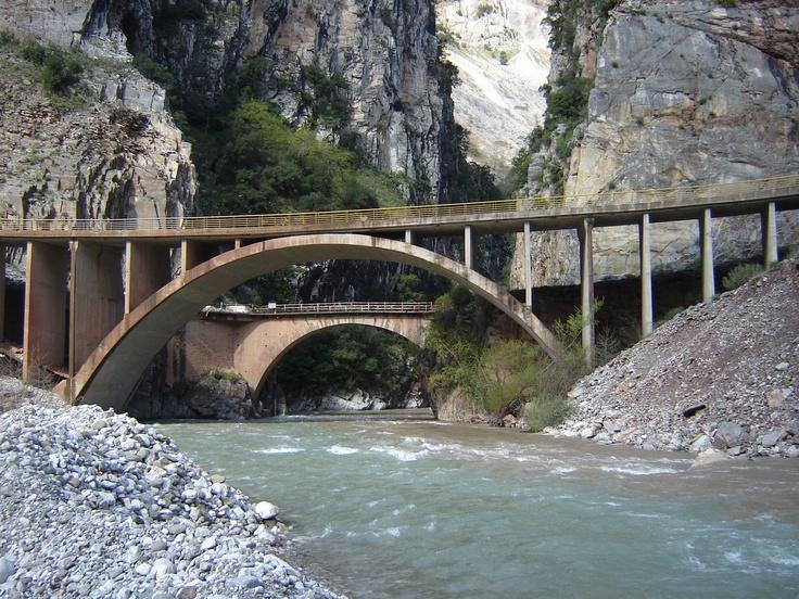 #River #Trikerioti #Karpenisi #Evritania #Greece #Montana