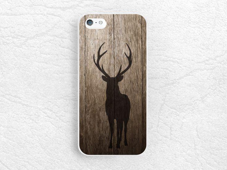 Deer Antlers Wood print phone case for iPhone 6/6s plus, LG G3 g4 Nexus 5, Moto X Moto G, Sony Z4 Z5 compact, Samsung S6, HTC One M8 M9 -G29