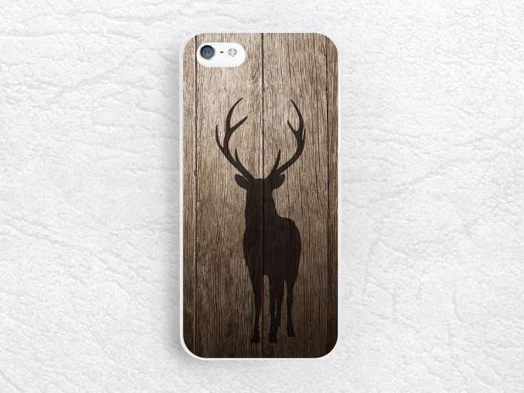Deer Antlers Wood print phone case for iPhone 6/6s plus, LG G3 g4 Nexus 5, Moto X Moto G, Sony Z4 Z5 compact, Samsung S6, HTC One M8 M9 -G29