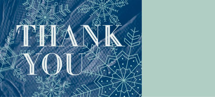 Holiday Thank You FY16