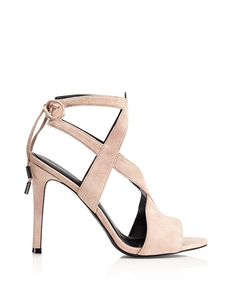 Zapatos beige de punta abierta formales Kendall & Kylie para mujer