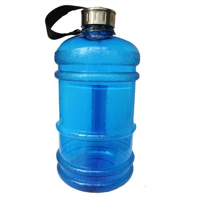 BPA Free Plastic Large Water Bottle with Handle 2.2L