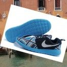 Nike Roshe Run Floreale Nero Blu Uomini,There must be right ones belong to you from our best sneakers.