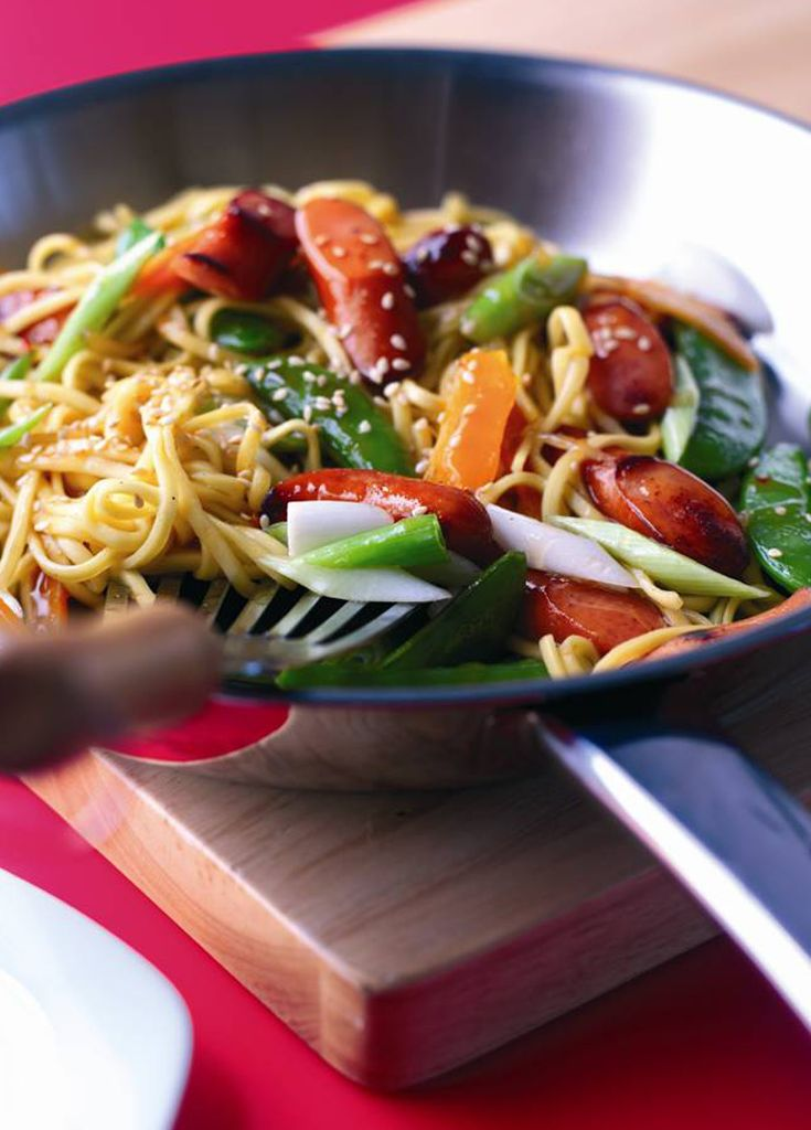 5 Minute Stir Fry - Super tasty stir fry ready in just 5 minutes!