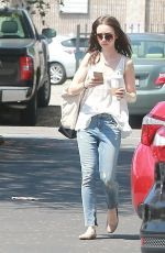 Lily Collins went to a casual ensemble for her afternoon stroll http://celebs-life.com/lily-collins-went-casual-ensemble-afternoon-stroll/  #lilycollins