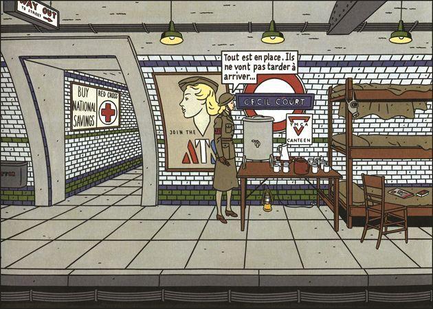 """""""Underground"""" di Floc'h e Rivière - #London #Tube #Londra"""