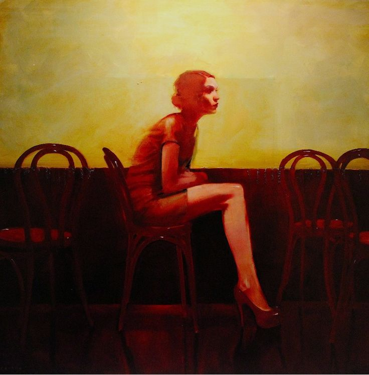 """Joy to hearts which have suffered long is like the dew on the ground after a long drought; both the heart and the ground absorb that beneficent moisture falling on them, and nothing is outwardly apparent."" ― Alexandre Dumas, The Count of Monte Cristo // Michael Carson-""Chairs"""