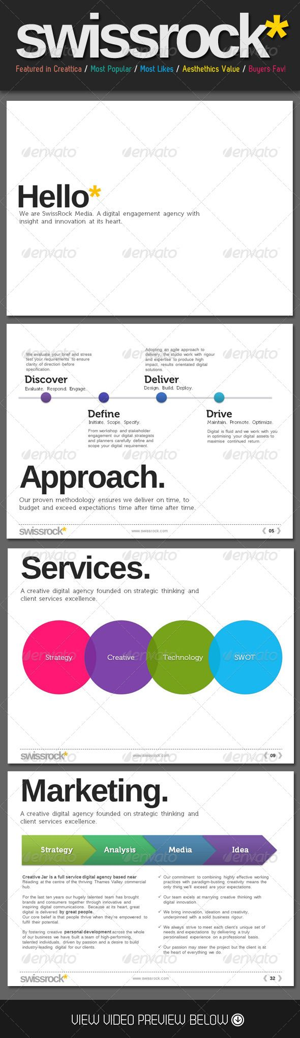 13 best powerpoints images on pinterest presentation layout swiss style rock powerpoint template toneelgroepblik