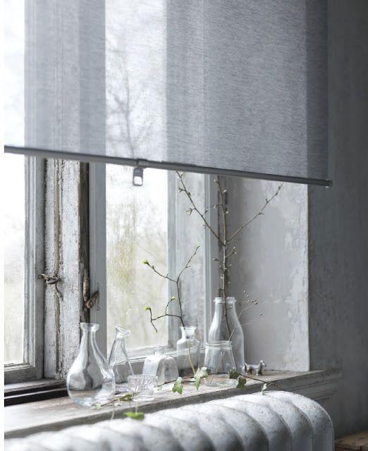 IKEA HACK: CUTTING SKOGSKLÖVER AND ENJE ROLLER BLINDS TO FIT YOUR WINDOWS