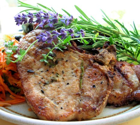 Make and share this Grill Pork  With Rosemary and Lavender recipe from Food.com.