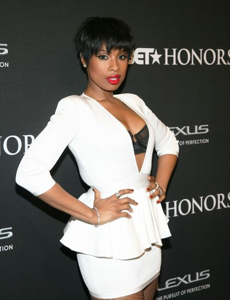 Jennifer Hudson Wins Us Over with Tossled Hair | StyleBlazer