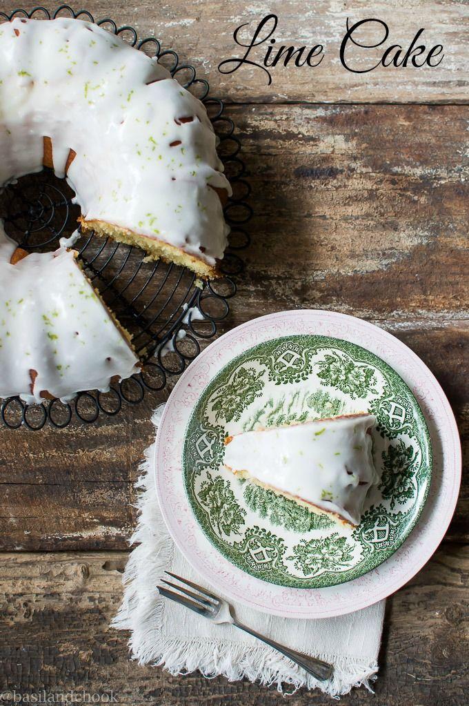 Lime Cake - Basil and Chook