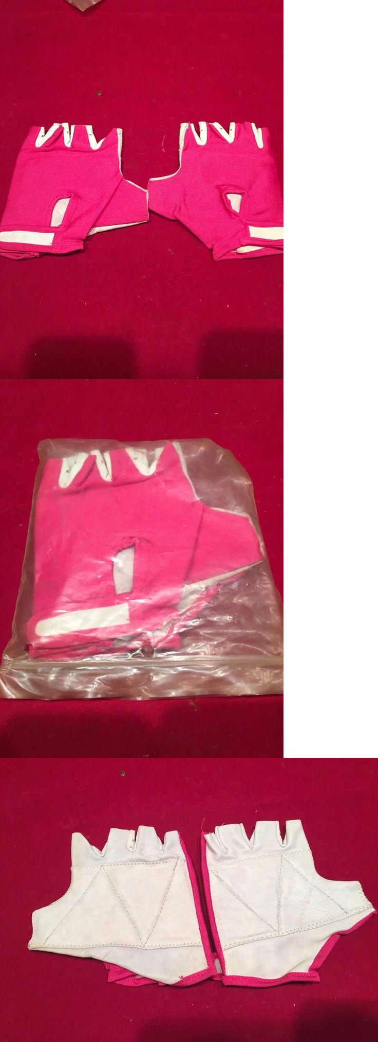 Gloves 22683: Nos Vintage Vela Half Finger Pink And Leather Large Bmx Gloves Bmx Freestyle -> BUY IT NOW ONLY: $49.99 on eBay!