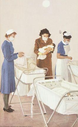 1000 Images About Vintage Hospital Nursery On Pinterest