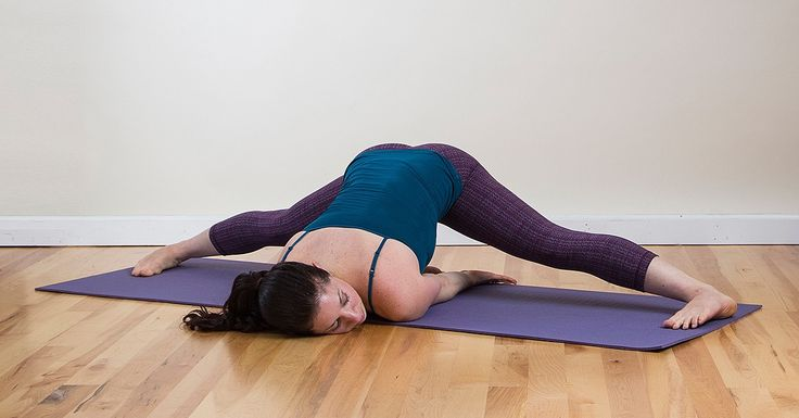 The 8 Essential Stretches to Open Up Tight Hips- Tightness in our hips has a huge correlation to mental/emotional stress so try these great stretches to release some pent up tension...