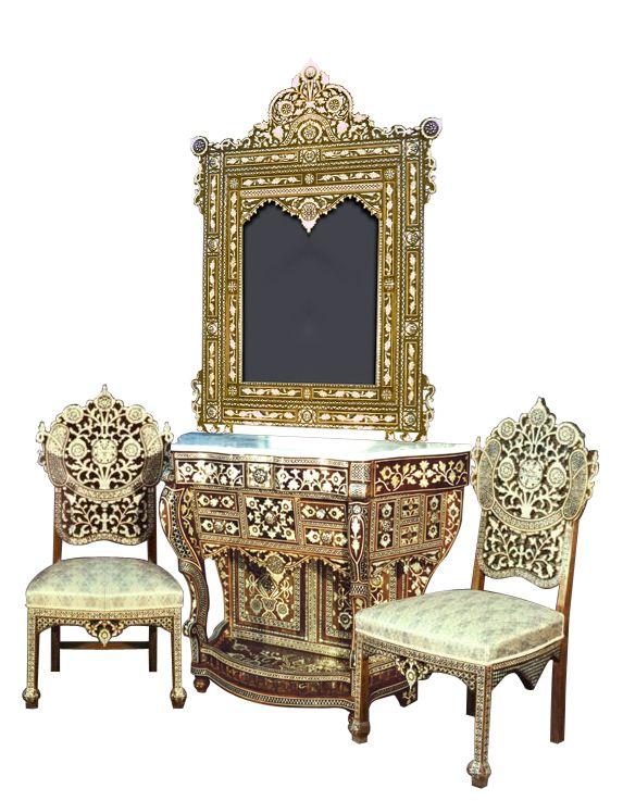 Elegant El Palacio Damasceno Furniture   Syrian Furniture | Consoles, SET