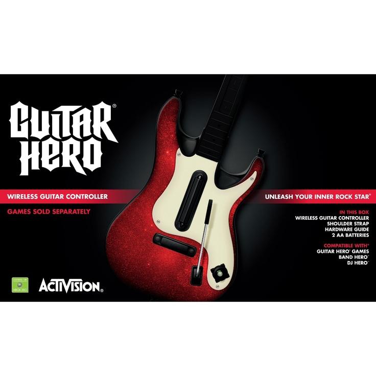 Xbox 360 Guitar Hero 5 Stand-Alone Guitar   Guitar, Guitar ...