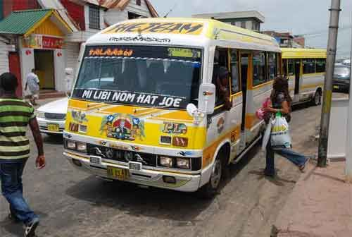 OV (bus) Suriname