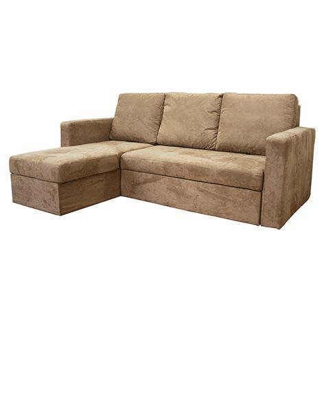 Microfiber Sectional Sofa With Sleeper