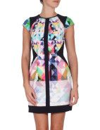 Ginger & Smart G&S Euphoria Digital Print Cap Sleeve Dress $579.00 #davidjones #dress #shop #fashion #style #party #love #colour #designer #ginger&smart