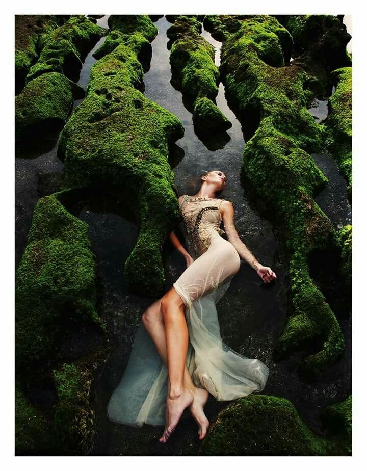 Dress by Jana Gavalcova fashion designer / photo Martin Machaj