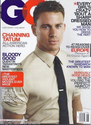 Channing tatum in gq magazine