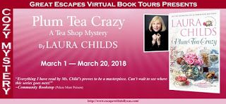 MysteriesEtc: Review, Blog Tour and Giveaway:  Plum Tea Crazy (A...