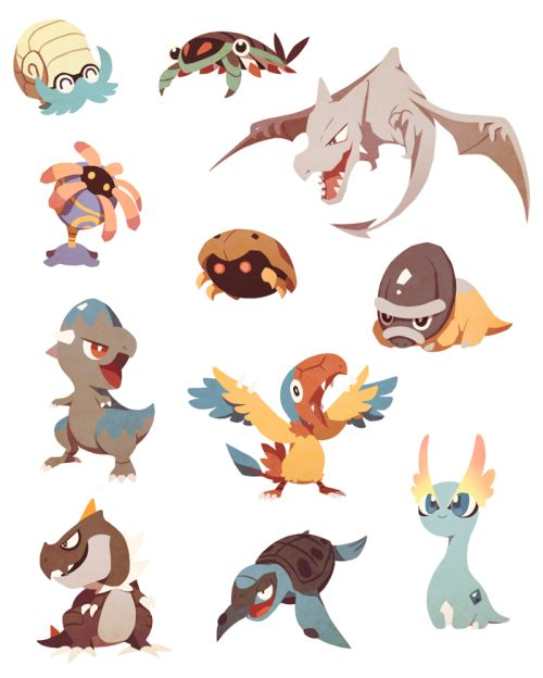 Baby fossil pokemon - Fossile pokemon diamant ...