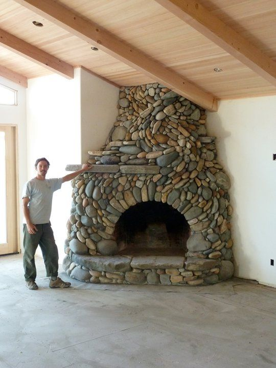 Beautiful Fireplace on Thanks for visiting us here at The Australian Owner-Builder Network!  http://theownerbuildernetwork.com.au/cast-in-stone/eckerman-studios/#sg13