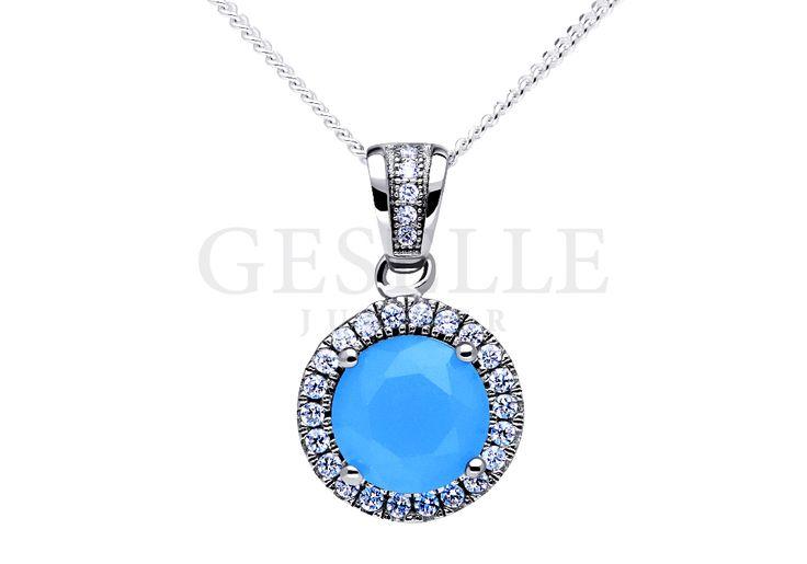 Cieszący się popularnością srebrny komplet biżuterii z kwarcem naturalnym | SREBRO \ Komplety NA PREZENT \ Mikołajki NA PREZENT \ Pod choinkę od GESELLE Jubiler