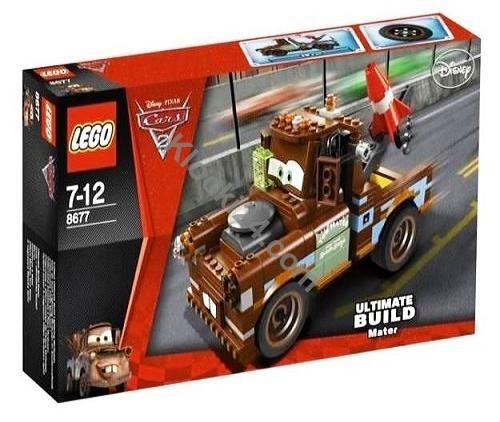 Lego Cars Ultimate Build Mater. Złomek Super konstrukcja z serii Lego Cars 2. Dokładna konstrukcja Złomka dużo szczegółów i detali. Przestępcy może i umieją jeżdzić ale nie zdołają się ukryć przed super agentem Złomkiem , wyposażony w super sprzęt szpiegowski namierzy każdego. Ilość klocków: 288.