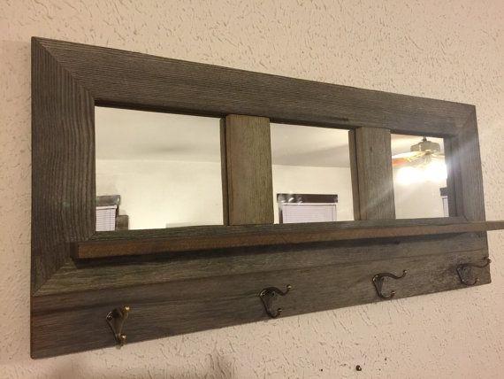 Les 8 meilleures images propos de miroir sur pinterest for Miroir bois de grange