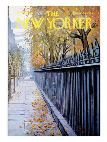 The New Yorker Cover - October 19, 1968 Poster Print by Arthur Getz at the Condé Nast Collection