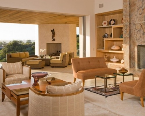 Love this indoor/outdoor living room: Living Room, Desert Home, Photo