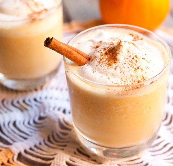Молочный коктейль с тыквой 4