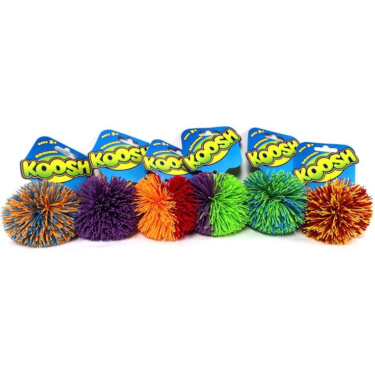 Koosh Balls. To keep students from blurting out in class make them raise their hands and you'll throw them a koosh ball during their question.  After you answer it they will toss it back to you.  See ideas on koosh rules.