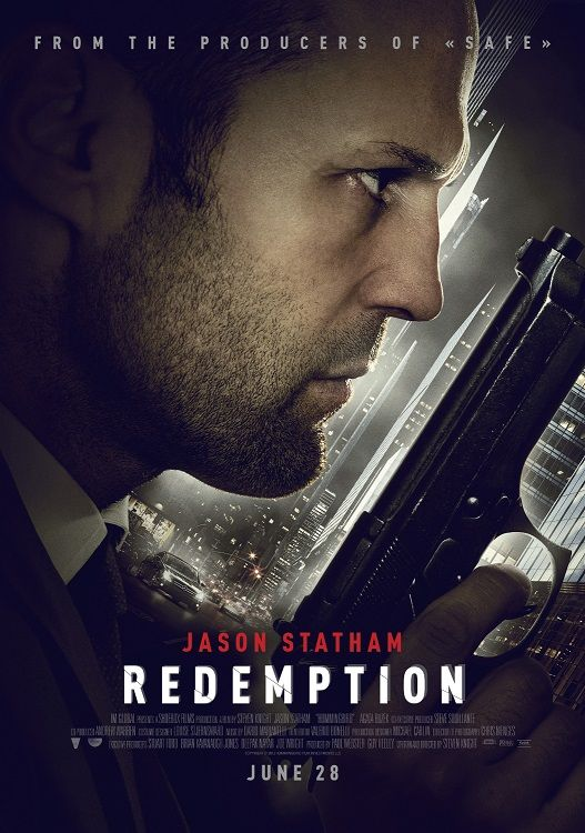 Redemption (2013).. Living homeless after going on the run from a military court-martial, Joey Jones (Jason Statham) is a damaged ex-special forces soldier trapped in London's criminal underworld. But when opportunity enables him to assume another man's identity, he is transformed into an avenging angel.