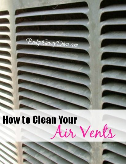 How to Clean Air Vents
