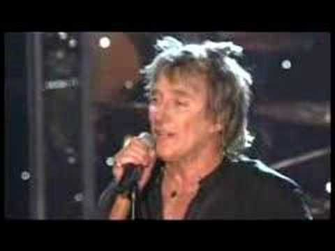 Rod Stewart....Maggie May  I love a 'raspy' voice and his is big-time raspy!