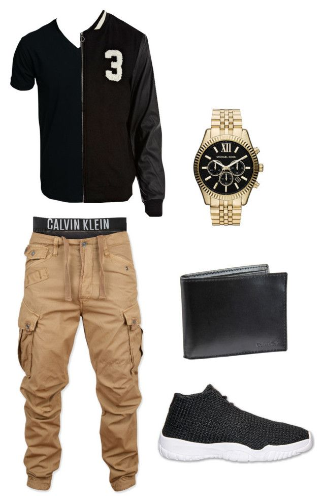 """""""Bf"""" by katsakae on Polyvore featuring Calvin Klein Underwear, G-Star Raw, SELECTED, River Island, Calvin Klein and Michael Kors"""
