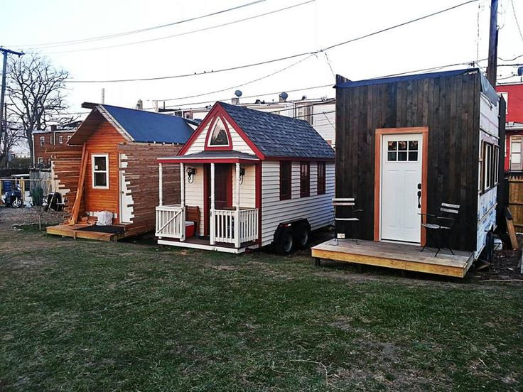 Boneyard Studios A Tiny House Community In Washington DC