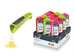Zeal Tower Grater. Great for pouring cheese exactly where you want it to go. By Kitchen Innovations