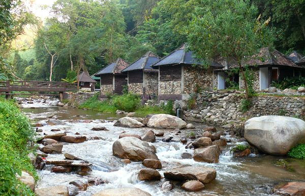 Chae Son National Park - Lampang Province, Thailand.