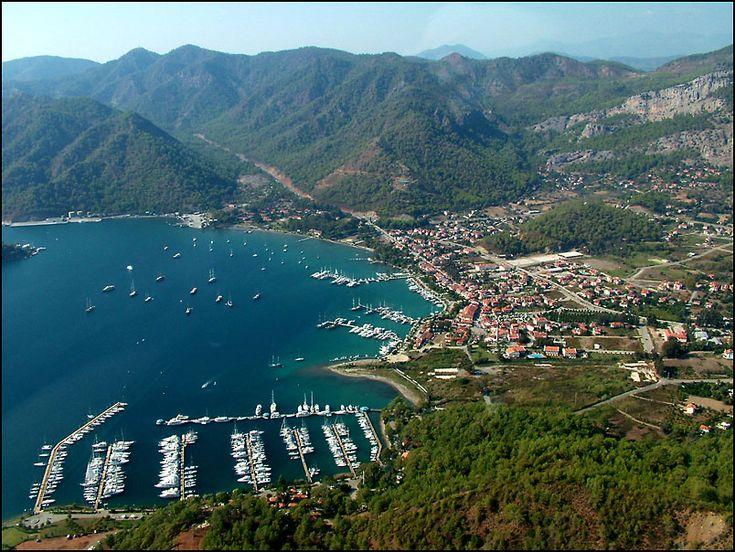 Gocek marinas... Turkey  yachtsngulets.com