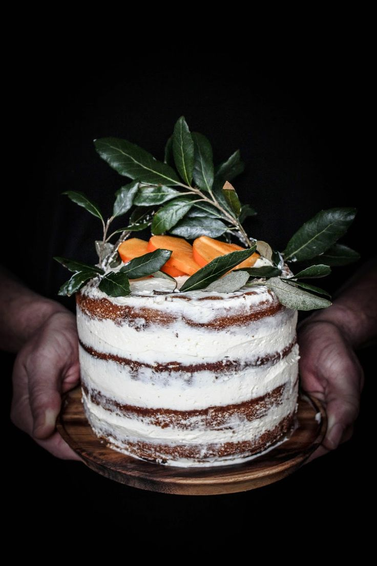 For a luscious dessert, employ this recipe for a persimmon cinnamon cake. | Downton Abbey, as seen on Masterpiece PBS