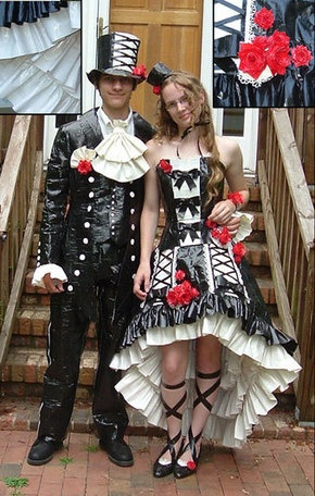 Costumes made out of duct tape??
